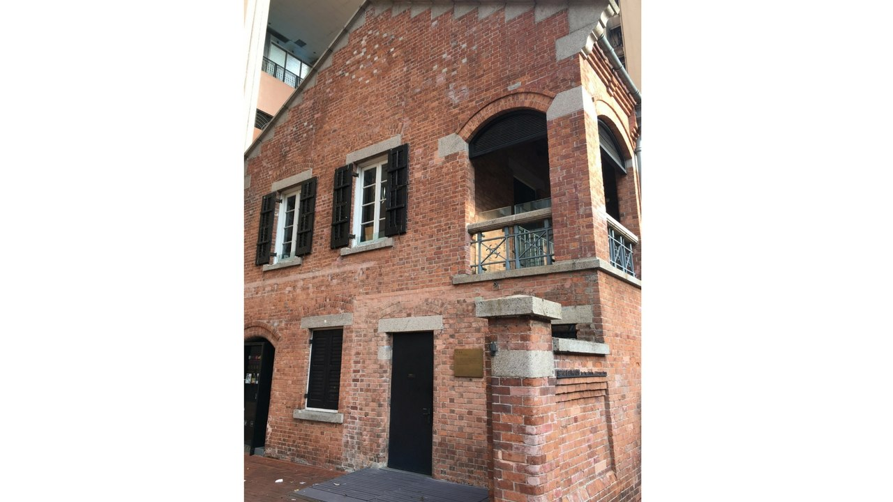 former pumping station on Shanghai Street