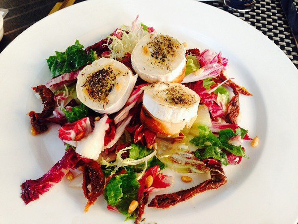 Quayside Goats cheese salad