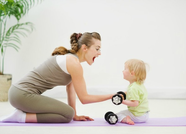 Post-Natal Fitness Exercise