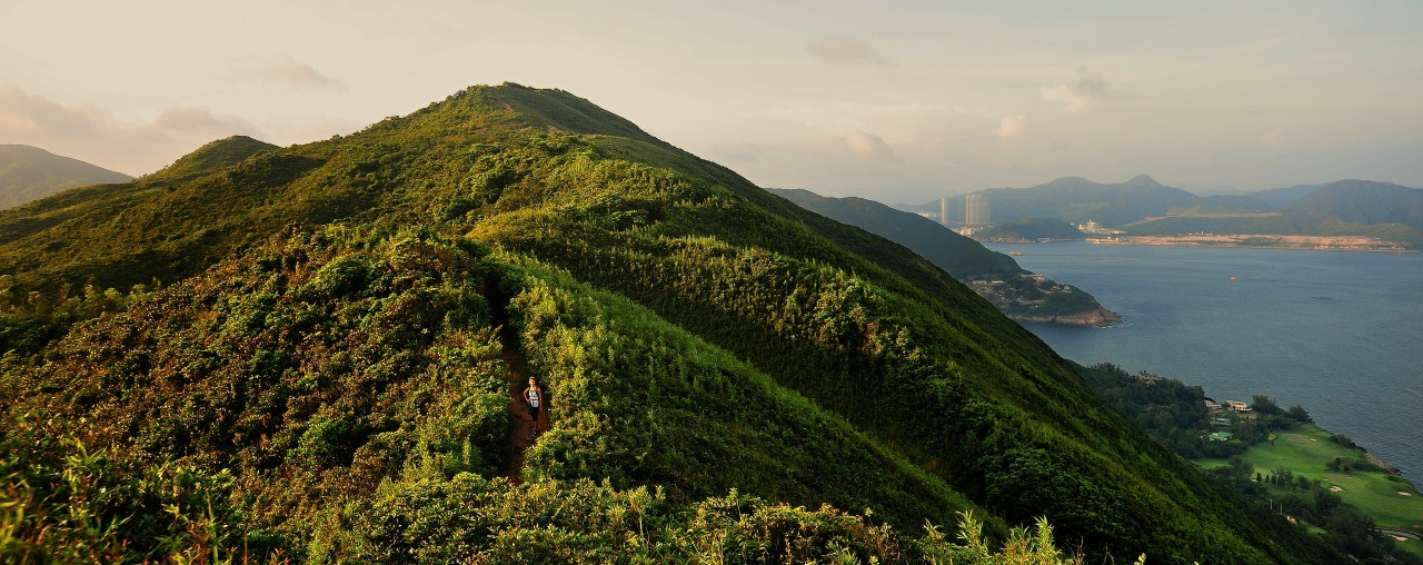 Dragons Back Hiking Trail, Hong Kong