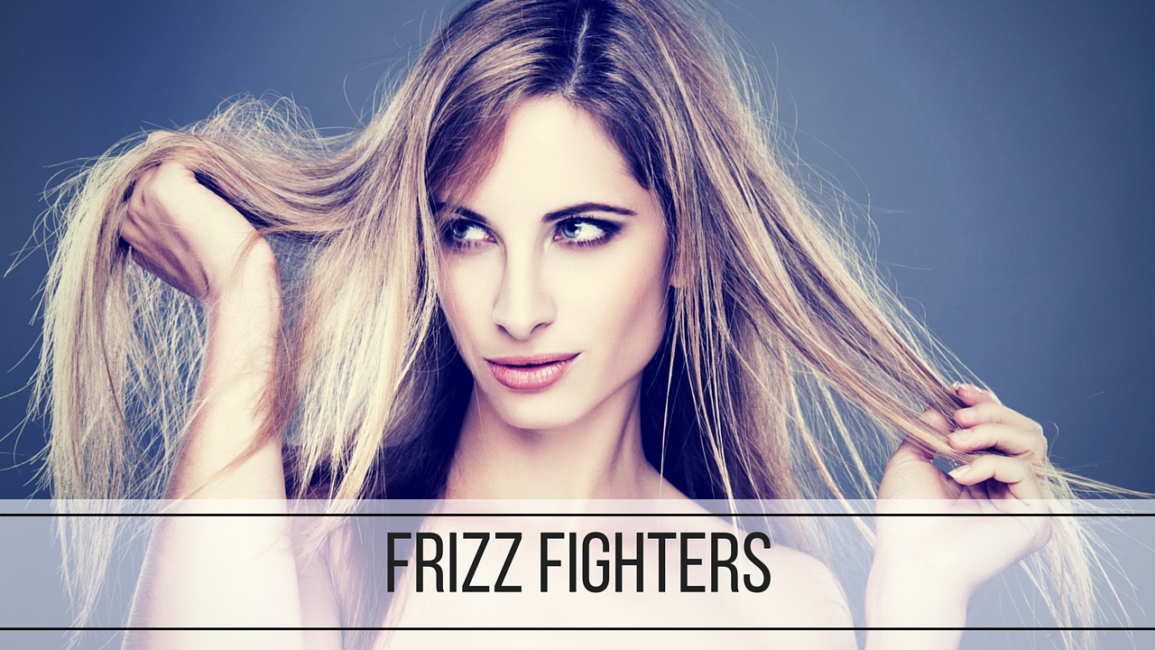 Glow Spa's Frizz Fighting Guide - woman with frizzy hair