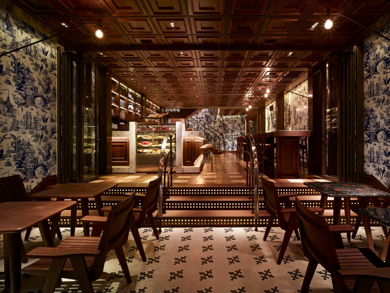 Interior of 208 duocento otto, Hollywood Road