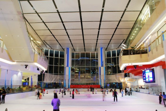 Ice Rink at Elements Mall
