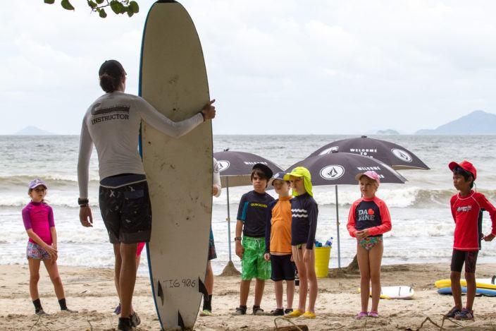 Surf Camp at Treasure Island