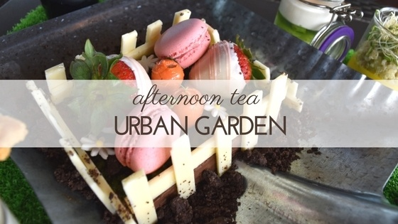 Urban Garden afternoon tea at Sugar