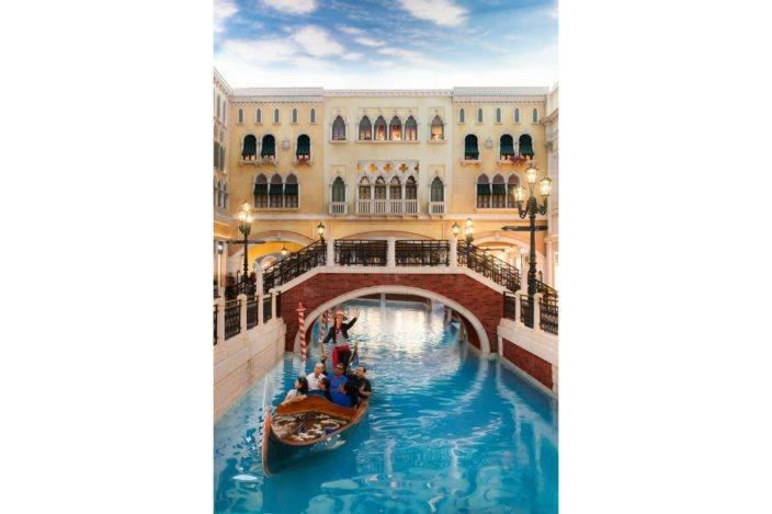 Gondola Ride @ The Venetian, Macau