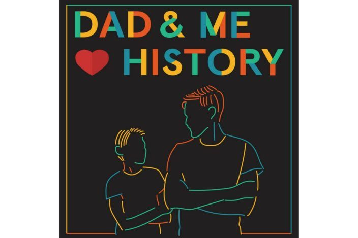 Dad and Me Love History Podcast art