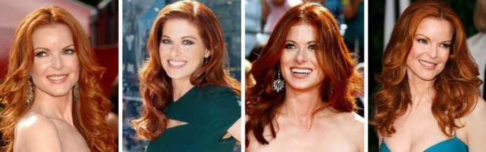 Red Head Celebrity Styles