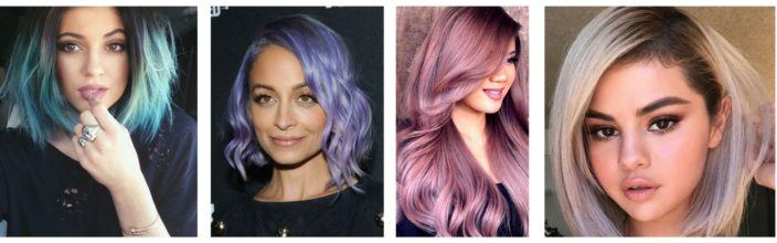 Pretty Pastels Hairstyles