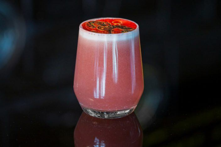 The Visionary cocktail from aqua Hong Kong
