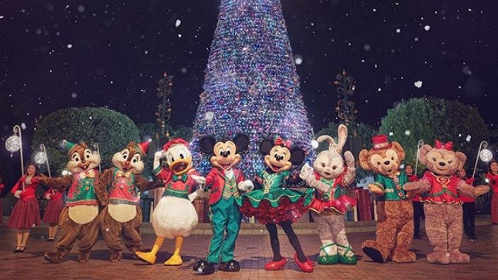 Disney Hong Kong Christmas