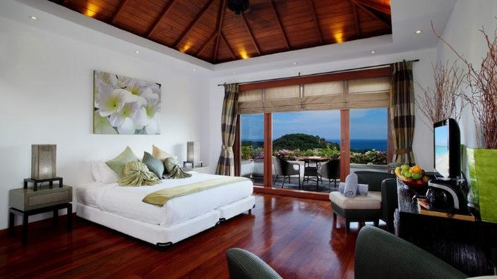 Villa Bedroom in Koh Samui