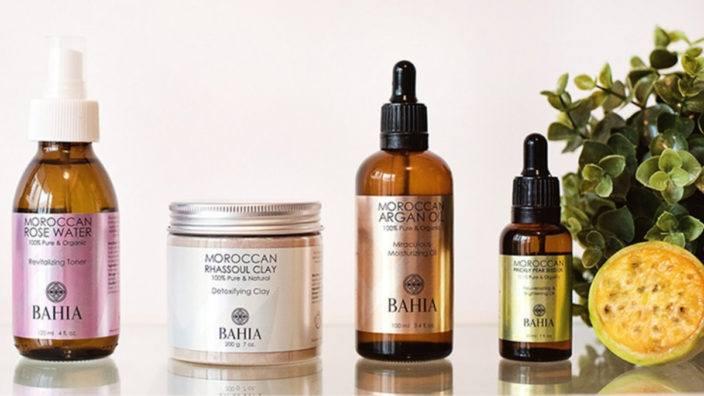 Bahia Cosmetics line