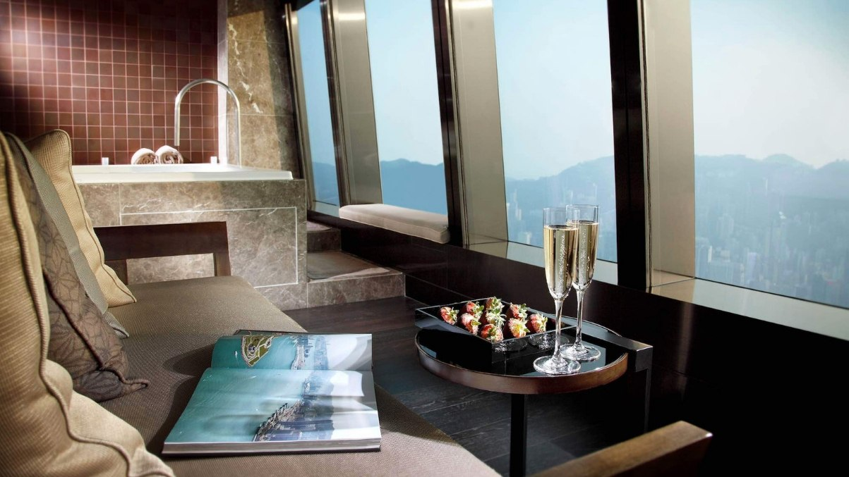 Ritz Carlton spa Hong Kong