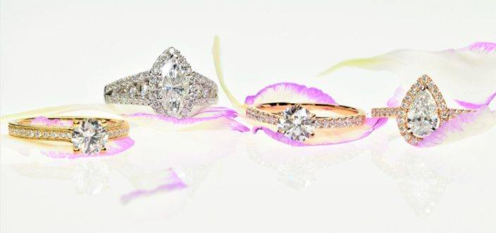 Niya K diamond rings