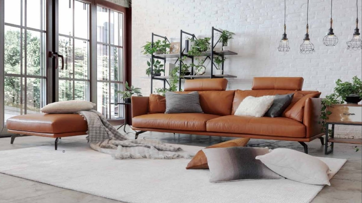 Leather couch from Tequila Kola