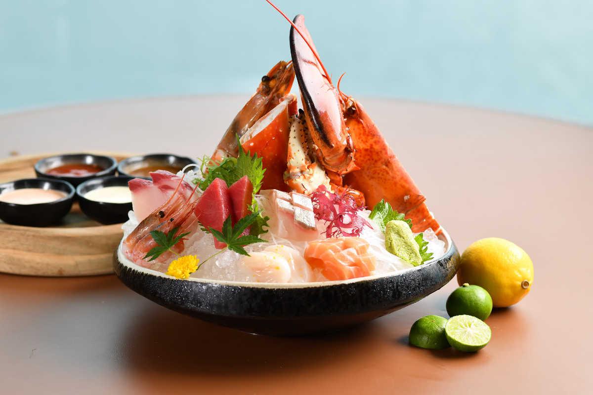 cruise restaurant north point seafood platter