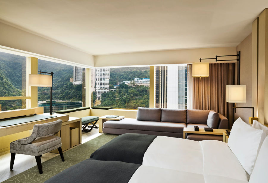 the upper house hotel room