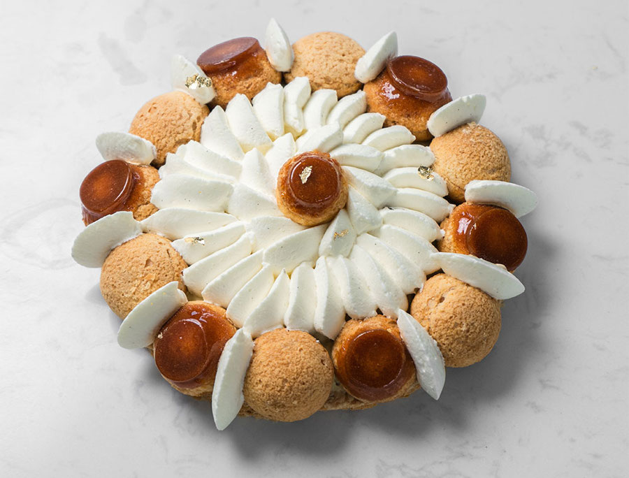 saint honore french pastry